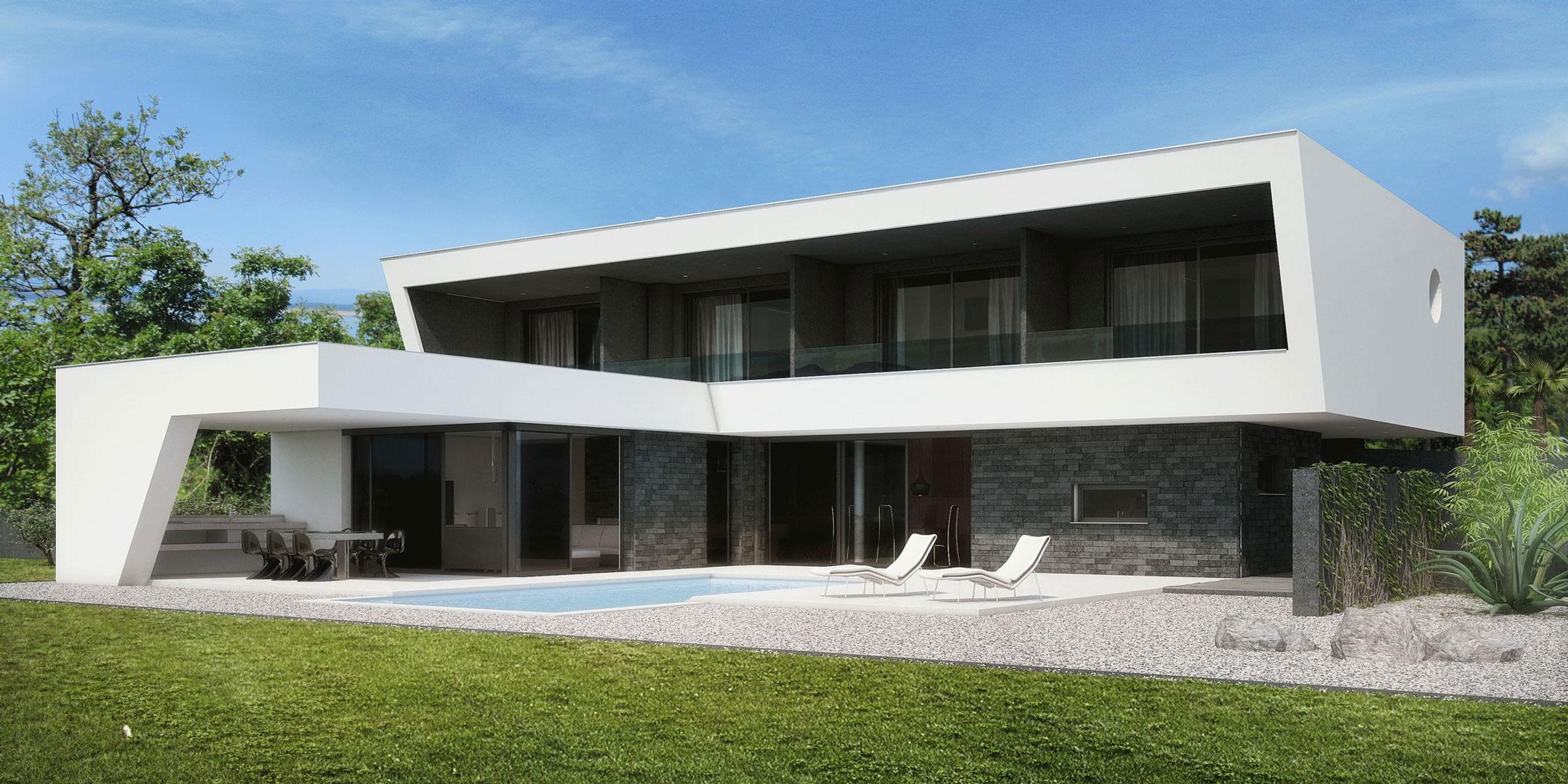 Moderna Kuća Za Odmor V1
