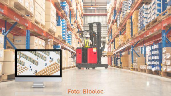 Indoor positioningsystemen warehouse