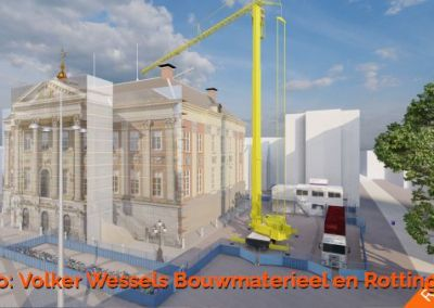 Artikel over 3D bouwplaatsinrichting