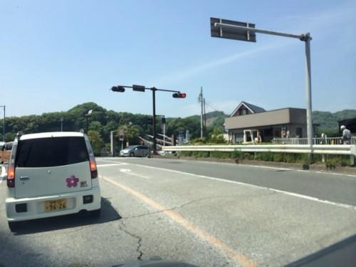 高田橋 東端の交差点