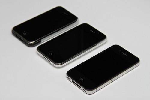 iphone+iphone3g+iphone4