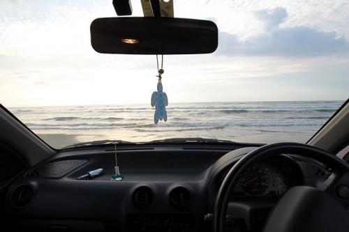海とクルマ