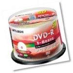 DVD-Rメディア 【三菱化学 DHR47HP50】