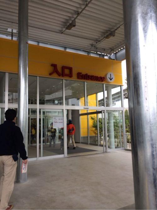 IKEA立川の入口