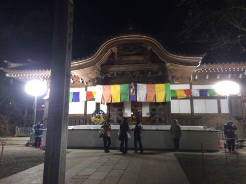 朝の深大寺