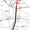 調布保谷線が埼玉県新座市境まで延伸(2015年8月2日15時)