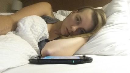 The choice between Vita and sleep.