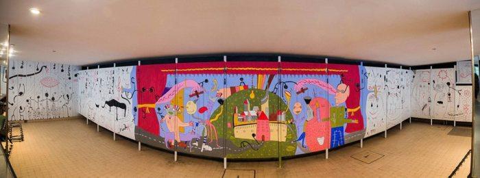 Mural Pozoriste mladih