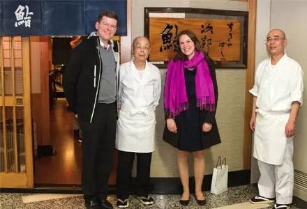 Försättsbild till artikeln: En dröm har gått i uppfyllelse – jag har ätit sushi hos Jiro! - På besök hos världens enda sushirestaurang med 3 st Michelinstjärnor, Ginza, Tokyo