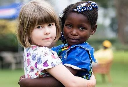 Försättsbild till artikeln: Fadderbarn via Child Africa - Gör skillnad för ett barn för knappt 32 € per månad...
