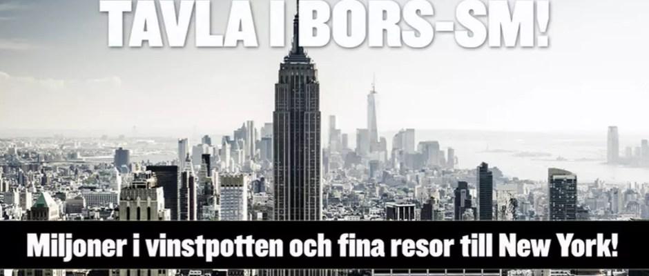 Försättsbild till artikeln: Börs SM 2015 - Det enda Sverigemästerskapet som bygger på tur och inte skicklighet...