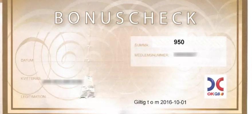Försättsbild till artikeln: Har du också fått din återbäring från OKQ8? - Om ditt kreditkort inte är gratis och ger dig pengar tillbaka - varför behålla det?