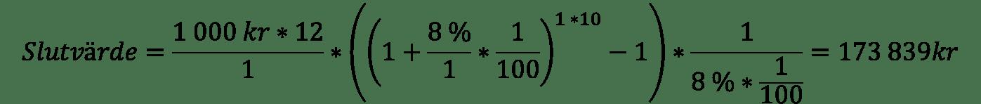 Använda Excel-formler för att räkna ut betalningar och sparande