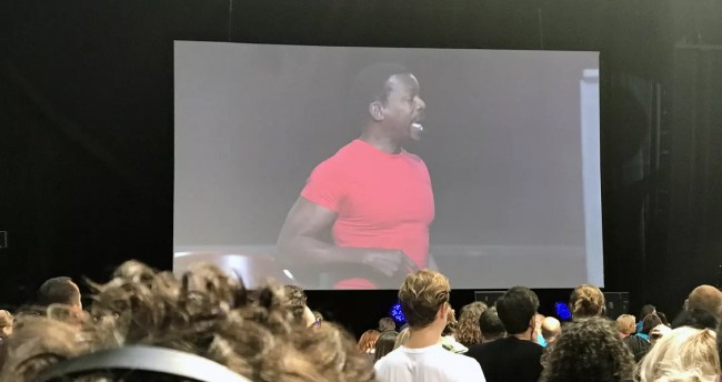 Joseph McLendon på Tony Robbins UPW