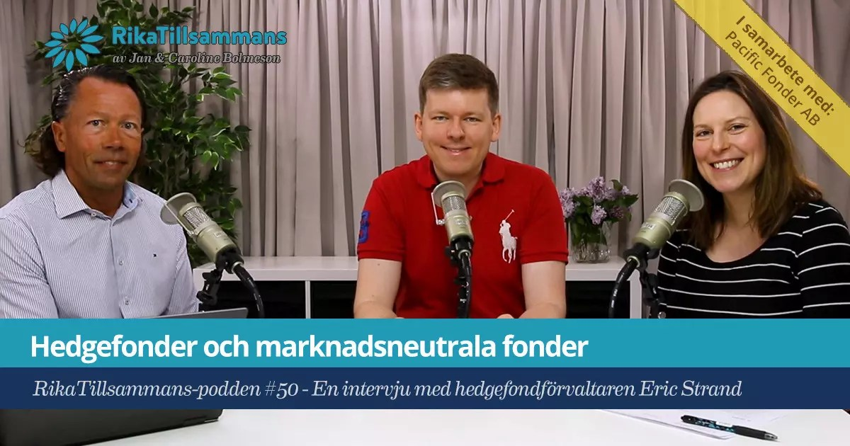 Hedgefonder och marknadsneutrala fonder