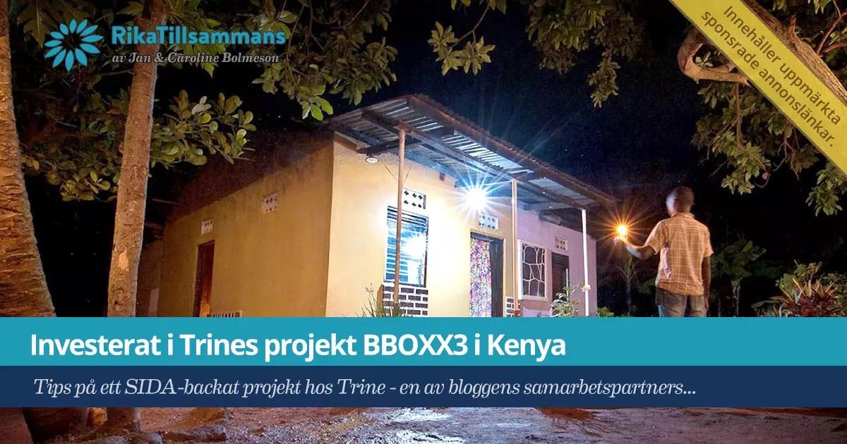 Trine BBOXX3