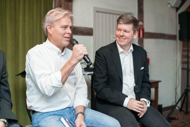 FikaTillsammans - kvällens gäst Arne Kavastu Talving svara på frågor