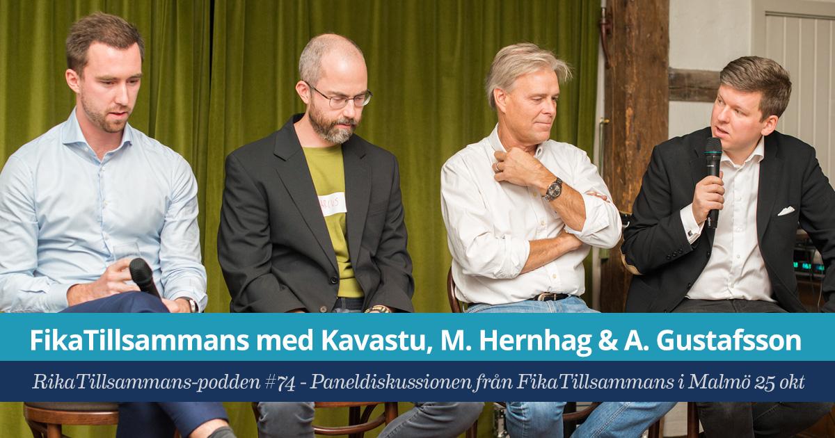 FikaTillsammans med Kavastu, Marcus Hernhag och Alexander Gustafsson