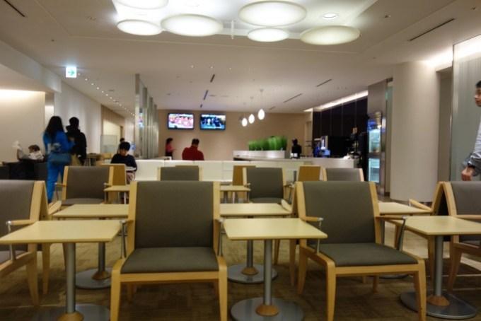 成田空港ANAアライバルラウンジ