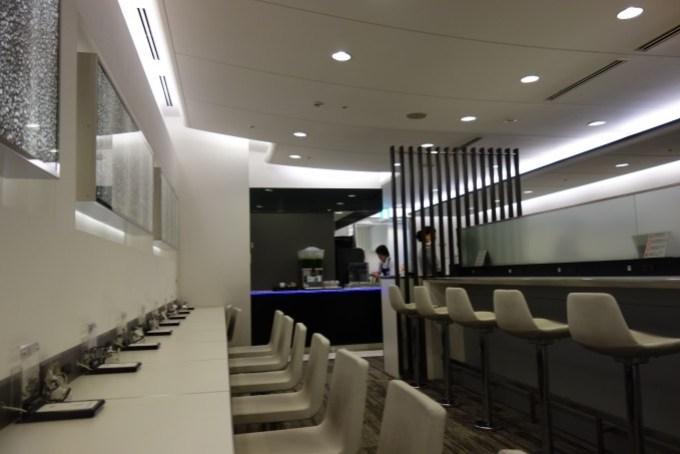 関西国際空港のANAラウンジ