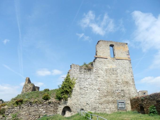 ドイツ ラインフェルス城跡