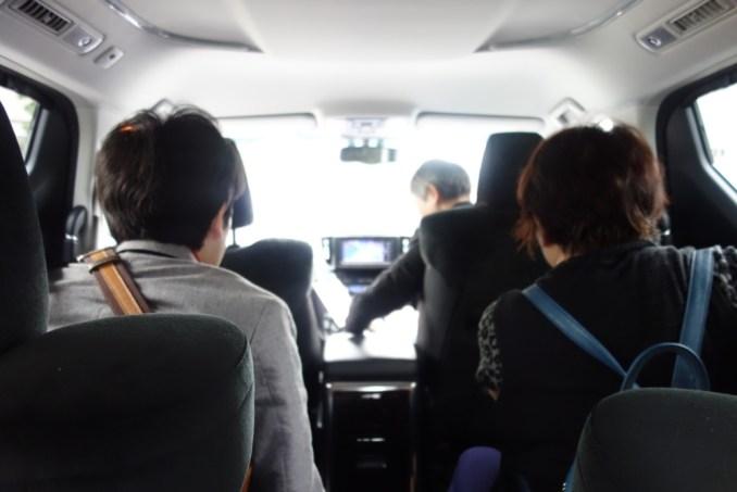 UBERで羽田空港へ!