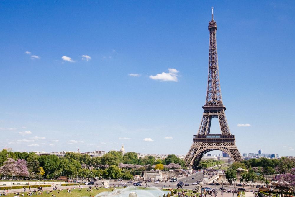 ANA特典航空券でフランス・パリへ