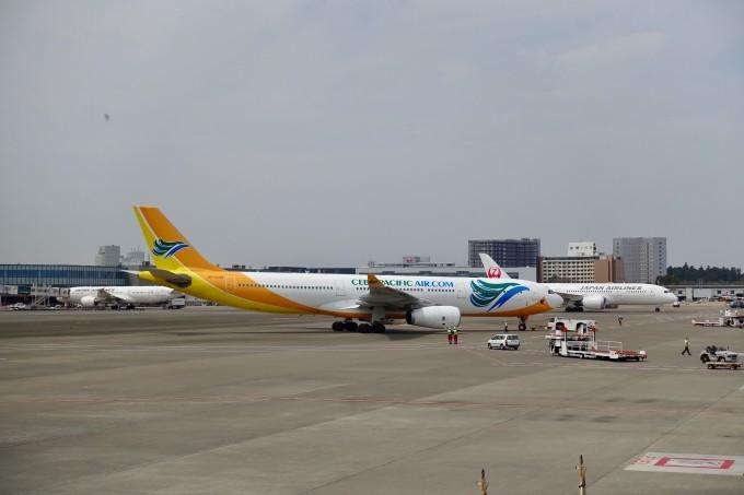 成田空港第2ターミナル駐機場