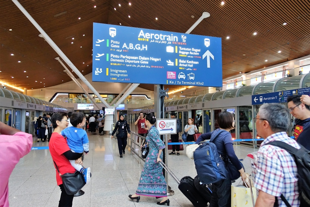 クアラルンプール国際空港 エアロトレイン