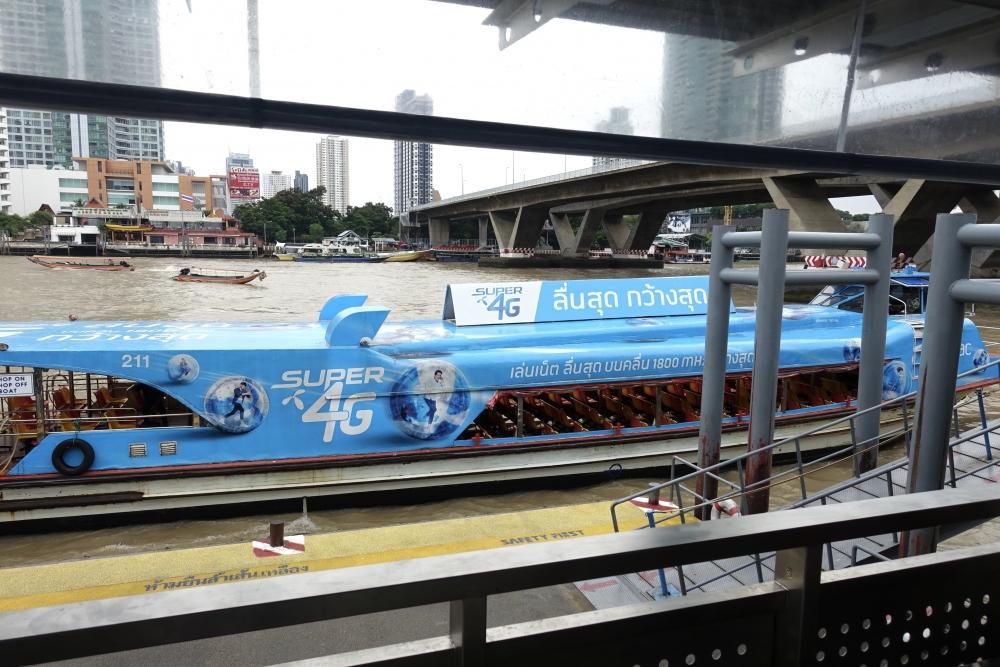 タイ・バンコクの水上バス