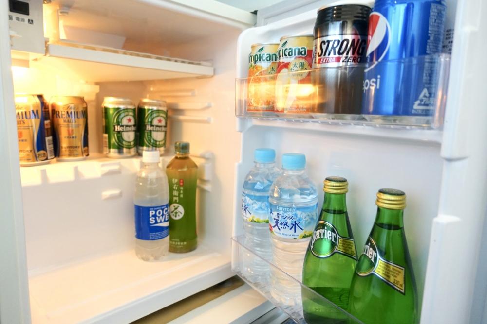 東京マリオットホテル 冷蔵庫