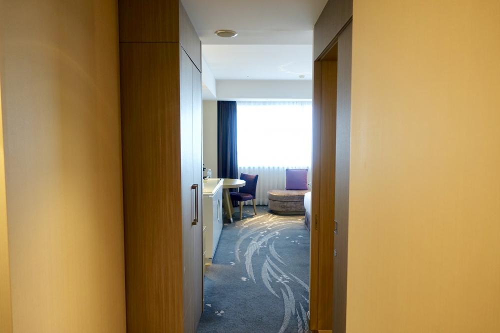 東京マリオットホテル エグゼクティブデラックスツインのお部屋 入口