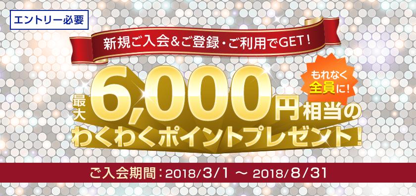 セディナカードJiyuda6000円プレゼントキャンペーン