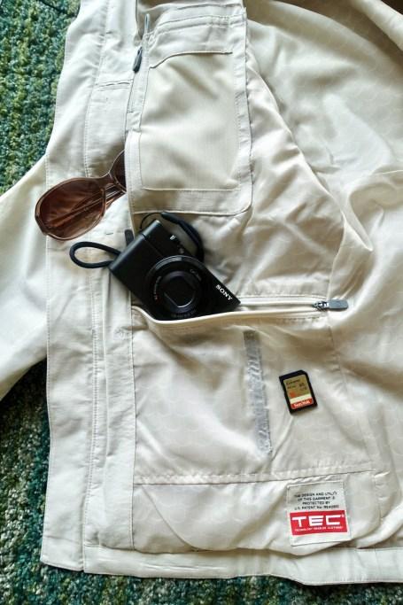 scottevest 右側のポケット