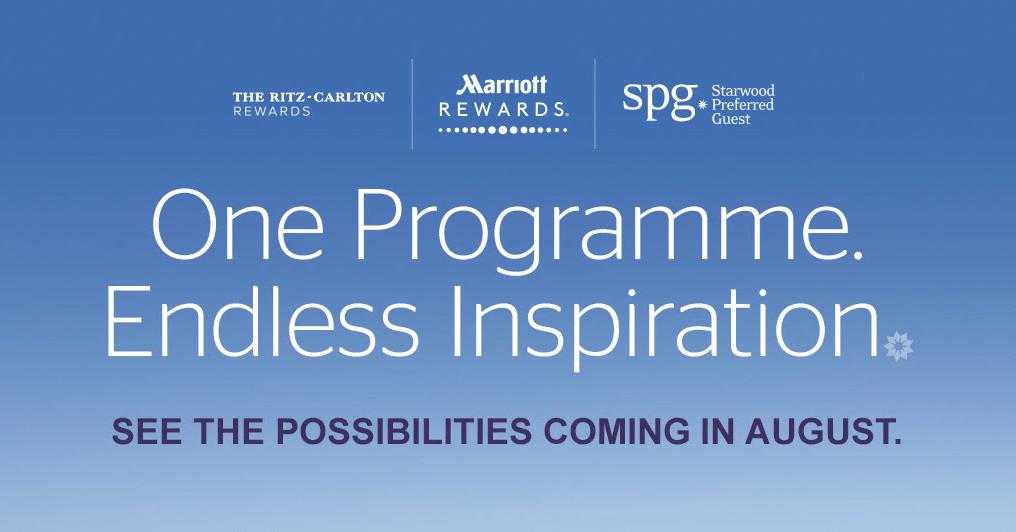 SPGとマリオットのプログラム統合のお知らせ