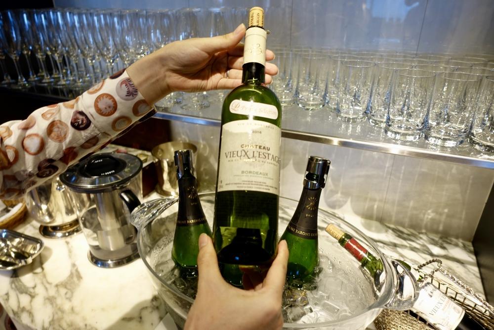 ザ・プリンスパークタワー東京プレミアムクラブラウンジ白ワイン