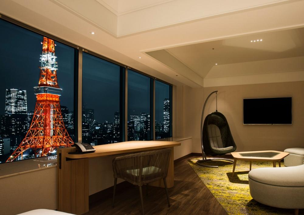 ザ・プリンス パークタワー東京プレミアムクラブフロアのお部屋
