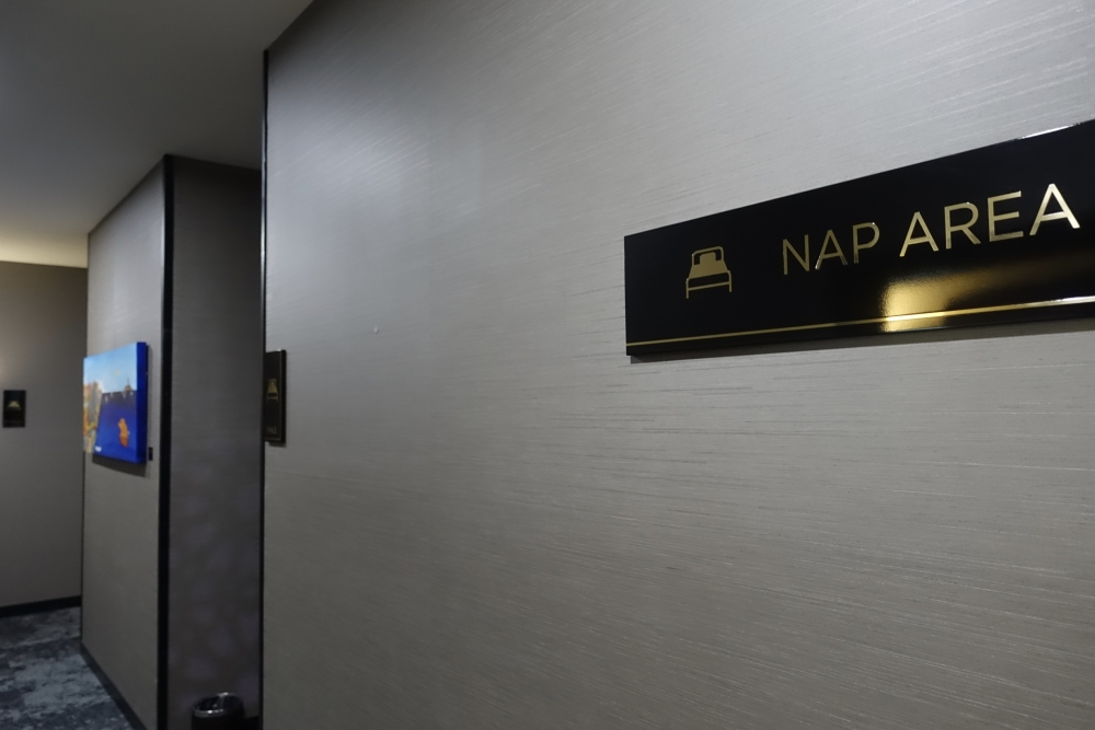 クアラルンプール国際空港マレーシア航空ゴールデンラウンジファーストクラス仮眠室