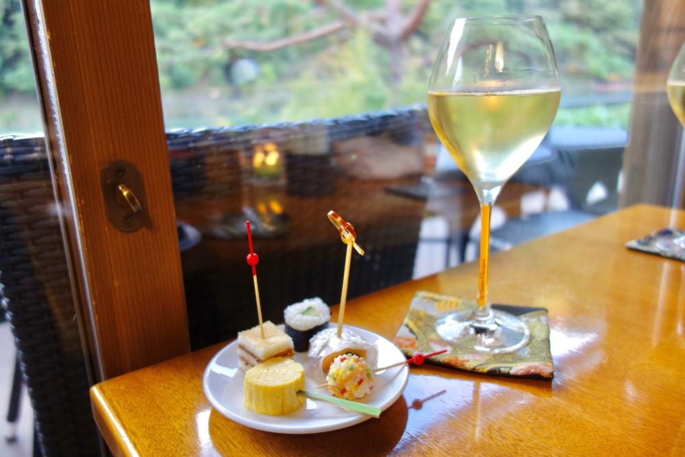 翠嵐ラグジュアリーコレクションホテル京都シャンパンディライト