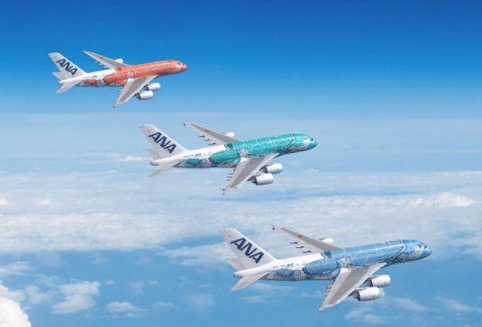 ANAハワイ新規投入A3803機