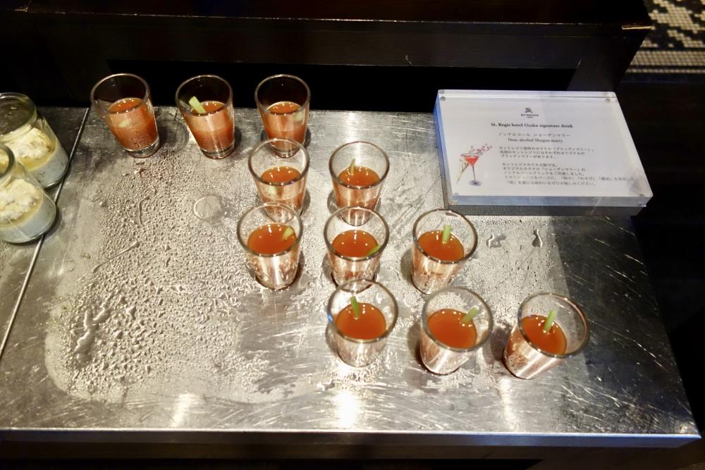 セントレジスホテル大阪朝食のショーグンマリー