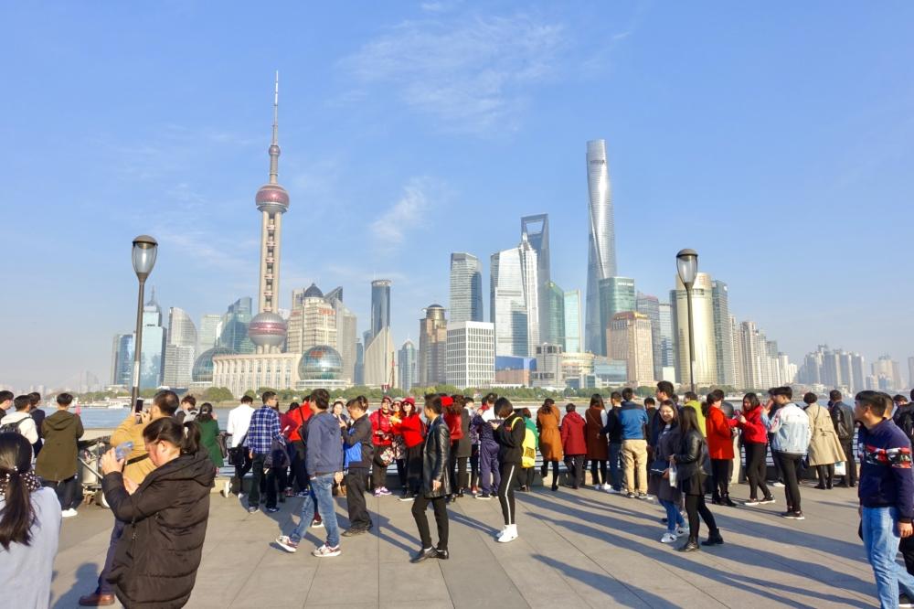上海・外灘の街並み