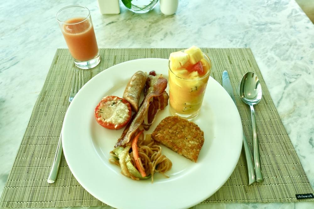 ルメリディアンサイゴン22階のクラブラウンジ朝食