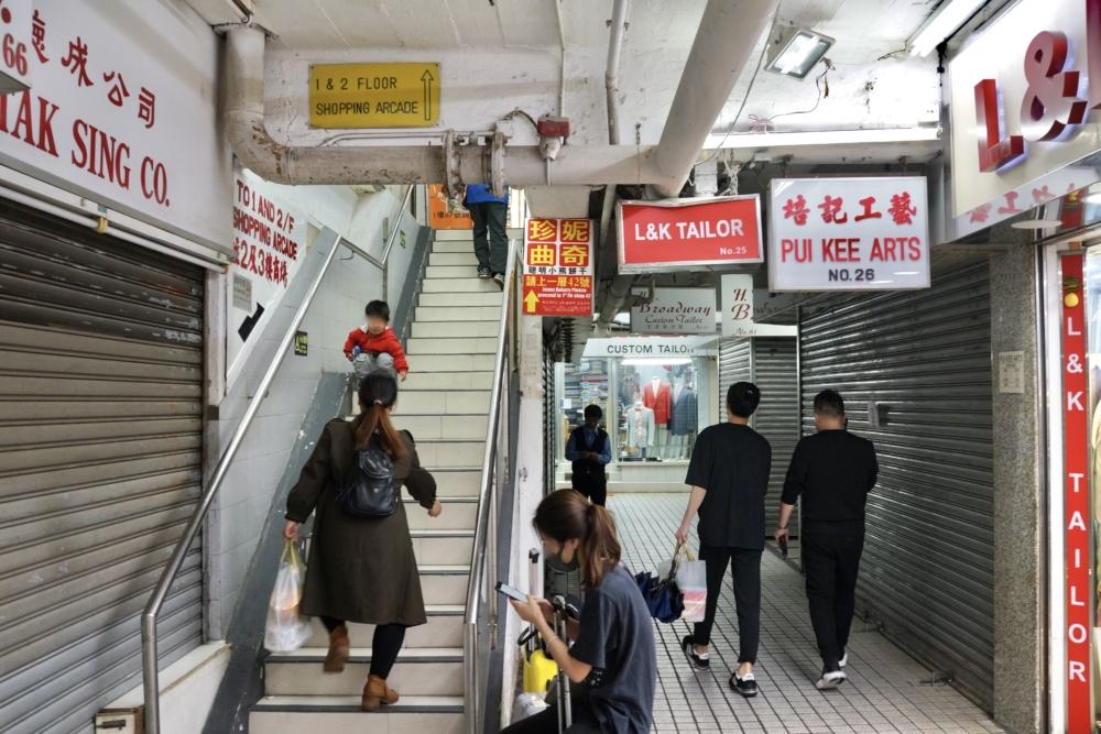 香港ジェニーベーカリーはミラドールマンション2階