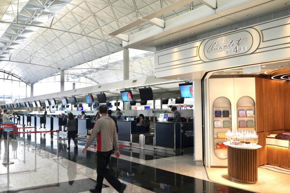 クッキーカルテット香港国際空港店