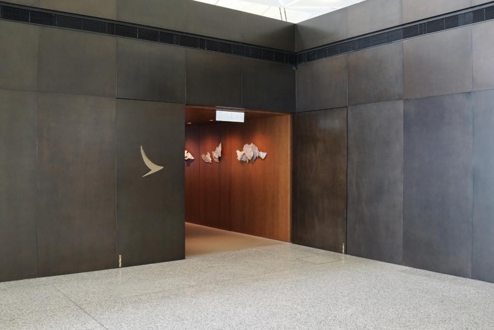 香港国際空港ザ・デッキの入口