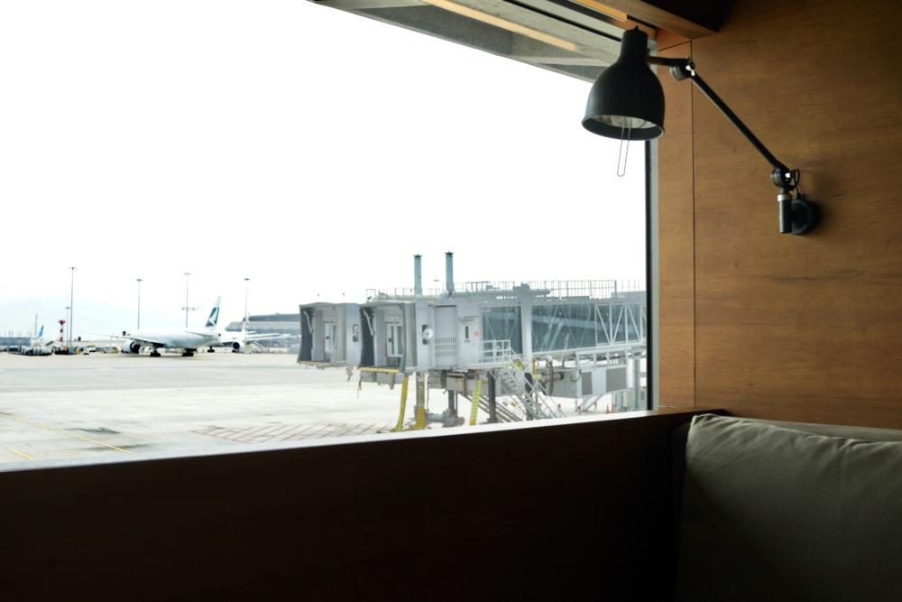 香港国際空港キャセイパシフィック航空ファーストクラスラウンジ「ザ・ピア」デイスイート