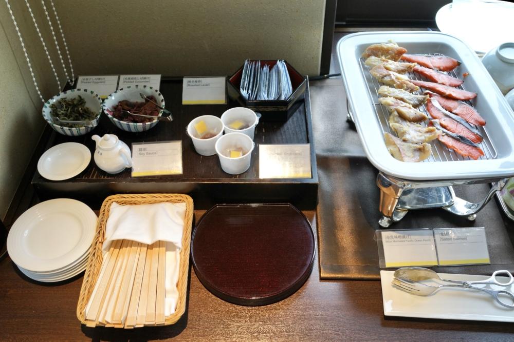 ウェスティン大阪エグゼクティブラウンジ朝食和食