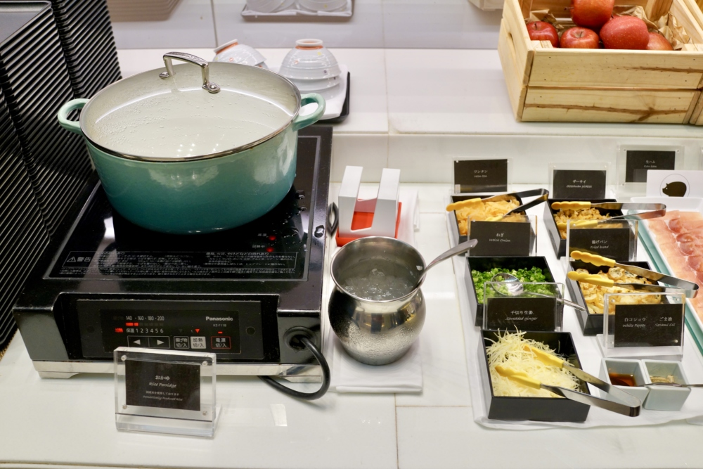 大阪マリオット都ホテルクラブラウンジ朝食