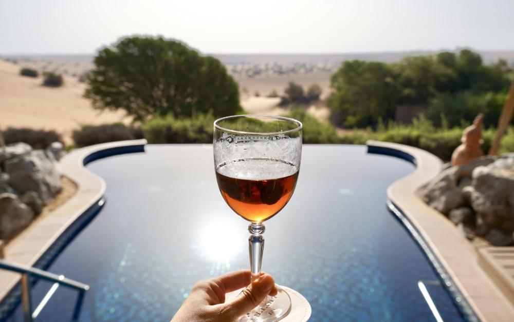 Al Maha a Luxury Collection Desert Resort & Spaベドウィンスイートのプール